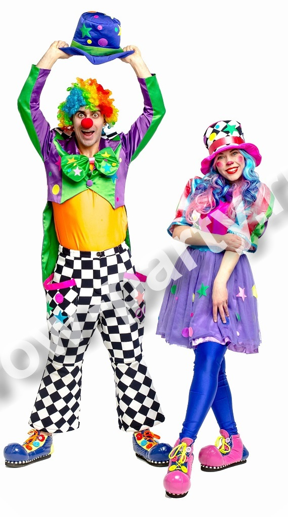 Клоуны Дурик и Веселинка