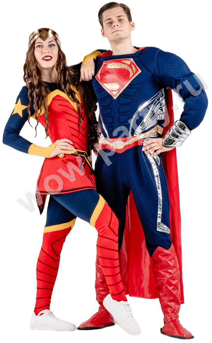 Супер Мен и Чудо женщина